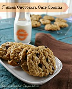 ... Cookies on Pinterest | Quaker oatmeal cookie recipe, Cookies and Apple