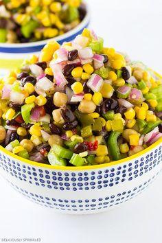 Black Bean and Corn Salsa, perfect summer dip recipe!
