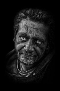 JurajGABRIEL | Photography - Insignificant ? Emotive homeless face at Charles…