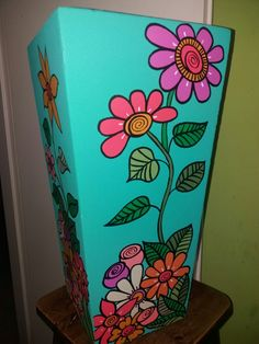 Flower Pot Art, Flower Pot Design, Clay Flower Pots, Flower Pot Crafts, Painted Flower Pots, Clay Pot Crafts, Painted Pots, Diy Crafts, Pottery Painting Designs