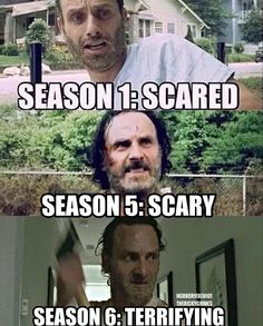 Rick Grimes ladies and gentlemen.