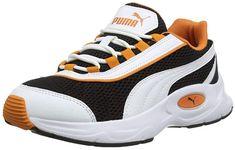 Cooler Nucleus Sneaker Unisex Schuh für Erwachsene (Mehrfarbig Puma Black Jaffa Orange).  Schöner Freizeitschuh für Männer, Frauen, Damen & Herren dir gerne bequeme und leichte Schuhe tragen. Egal ob für den Alltag oder die Arbeit, die Sneakers kann man überall tragen.  #Sneaker #Sneakers #Unisex #Schuh #Schuhe #Freizeitschuh #Halbschuh #Turnschuh #Freizeitschuhe #Turnschuhe #Halbschuhe #Sommerschuhe #Sommerschuh Air Max Sneakers, Sneakers Nike, Unisex, Puma, Nike Air Max, Shoes, Fashion, Loafers, Trainer Shoes