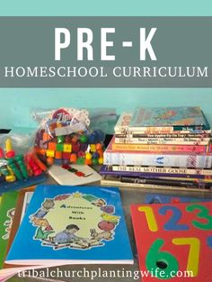 "Charlotte Mason / classical pre-k or junior kindergarten homeschool curriculum that I've ""put together"". Including Rod & Staff workbooks, books recommended by Well-Trained Mind and Ambleside. Here's to pre-K!"