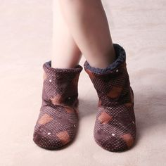 Soft Plush Insole Warmy Home Women Slippers | 4Colordress