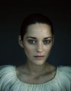 Marion Cotillard - I LOVE the lighting in this...it almost looks like all but her face are underwater