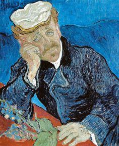 Vincent van Gogh - Dr. Paul Gachet, 1890