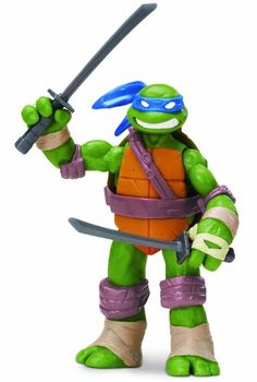 TMNT – 5502 – Figurine – Leonardo Art avec Accessoires – 12 cm | Your #1 Source for Toys and Games