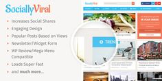 SociallyViral WP Responsive Theme to Boost Social Shares, Traffic & Revenue