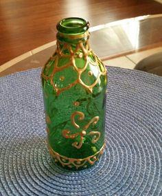 Puffy paint bottle