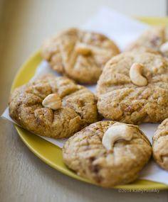Gluten-Free Vegan Cashew Butter Cookies