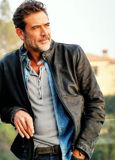 The Walking Dead.It might be difficult to hate Negan when he looks this good.