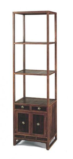사방탁자장, 19세기, 이화여대박물관 소장