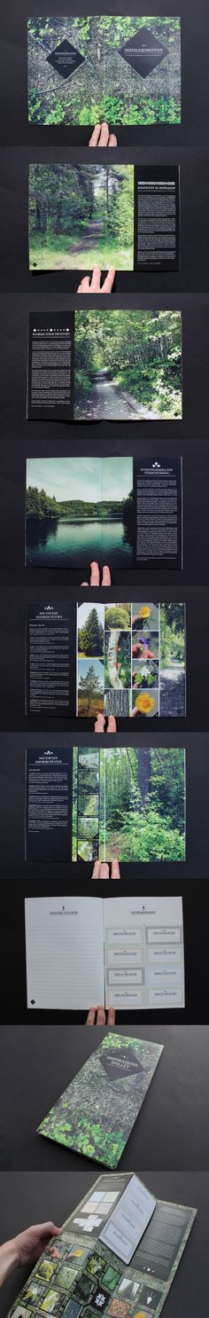 pretty page layout, editorial design,  The Path of Inspiration