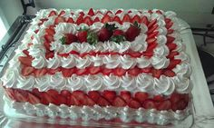 Strawberry shortcake only do chocolate Strawberry Cakes, Strawberry Recipes, Strawberry Shortcake, Cupcake Cake Designs, Cupcake Cakes, Gourmet Cakes, Candy Cakes, Just Cakes, Buttercream Cake