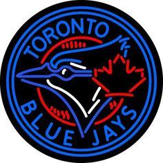 Toronto Blue Jays Official MLB Bar Club Neon Light Sign