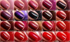 Essie Color guide #1-100!   Nailderella