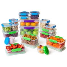 Amazon.com: Sistema Food Storage Containers, Baby Gourmet Meal Prep Food Storage - 36 PC Set: Kitchen & Dining