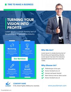 74 best business flyer template images in 2018 business flyer