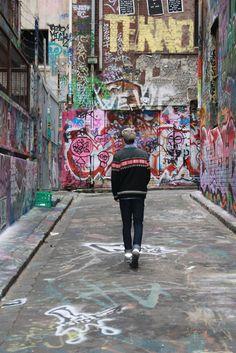 Graffiti and and good fashion sense should go hand in hand.