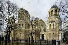 Nativity of Christ Cathedral, Riga, Latvia.