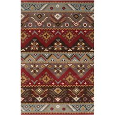 Artistic Weavers Dillon Rust Wool 3 ft. 6 in. x 5 ft. 6 in. Area Rug - DIL4200-3656 at The Home Depot
