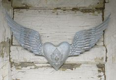 Angel Wing Wall Decor Angel Wing Decor by ColorfulCastAndCrew