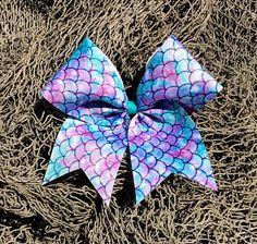 Mermaid Cheer Bow/Mermaid Bow/Cheer Bow/Bow/Mermaid/Birthday Gift/Girl Gift