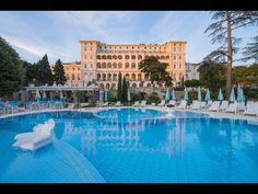 JUST Travel: Hotel Kvarner Palace, Crikvenica, Croatia Outdoor Pool, Outdoor Decor, Close Proximity, Welcome Decor, Front Desk, Palace, Mansions, House Styles, Storage Room