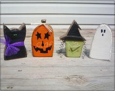 Halloween Character Blockhead set.