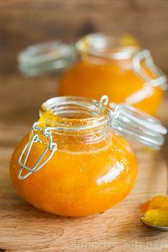 Apricot-mango jam for Monthly Mingle - A taste of yellow | Simone's KitchenSimone's Kitchen