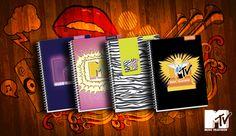 Linea de cuadernos MTV 2013, PROARTE CHILE.