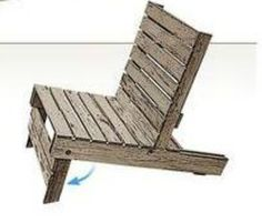 How to Make an Easy Pallet Chair…