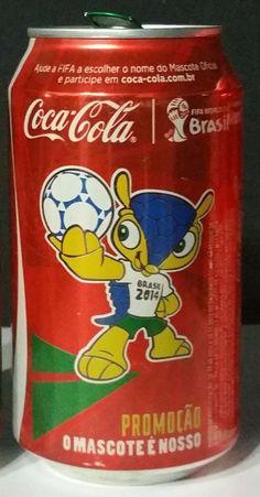 COCA COLA Coke Can Brasil 350ml FIFA World Cup BRAZIL 2014 Collect    eBay