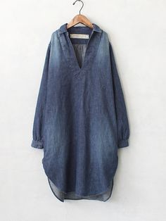 indigo ideas & nice hem shape