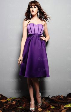 Charming Purple Bridesmaid Dresses for Your Precious Wedding