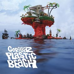 Plastic Beach is the third studio album by British virtual band Gorillaz. Conceived from an unfinished Gorillaz project called Carousel, the album was recorded from June 2008 to November 2009 and prod Lp Vinyl, Vinyl Records, Gorillaz Albums, Gorillaz Art, Gorillaz Plastic Beach, Newbury Comics, Demon Days, Mos Def, Trip Hop