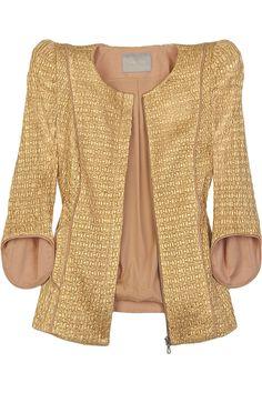modern twist on a tweed blazer