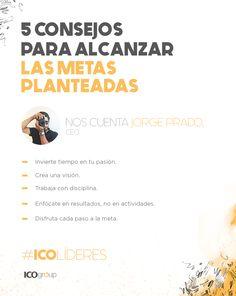 Cinco consejos del CEO, Jorge Prado.