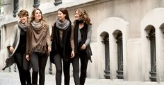 C&A shows you how to style cashmere – the latest affordable luxury – for everyday wear. Cashmere, Luxury, My Style, Hair Styles, How To Wear, Fashion, Ideas, Moda, Cashmere Wool