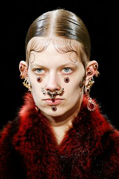 Lexi Boling at Givenchy Fall/Winter 2015, PFW.