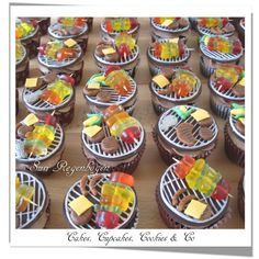Barbeque - Cupcakes