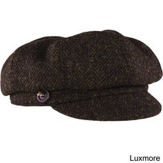 Stormy Kromer The Gatsby Cap Harris Tweed Newsboy Hat (Size 7 3 8 Luxmore) 4a3314b12cf5
