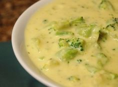 Atkins Friendly Broccoli Cheddar Soup Recipe - making this right now and so far it looks like it's going to be awesome!