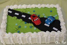 Open Café: Autot -kakku