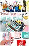 School Supplies Your Teen Will Actually Love