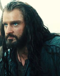 Nobody, but NObody puts Thorin in a cell. <-- but look how the blue shirt brings out his eyes...