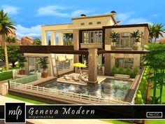 Sims 4 home ideas mansion house easy . sims 4 home ideas house simple . Sims 4 House Building, Sims House Plans, Sims House Design, Modern House Design, Sims 4 Modern House, Casas The Sims 4, Best Sims, Sims 4 Build, Modern Farmhouse Plans