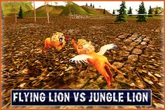 Flying Lion – Wild Simulator ( Flying Animal)