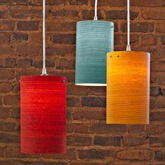 dyed veneer lamp shades. http://lowescreativeideas.com/idea-library/projects/wood-veneer-pendant-light