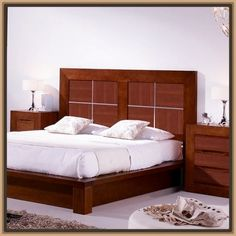 Imagen relacionada Beds Online, Room, Furniture, Home Decor, Ideas, Modern Beds, Wooden Beds, Bed Headboards, Kid Furniture